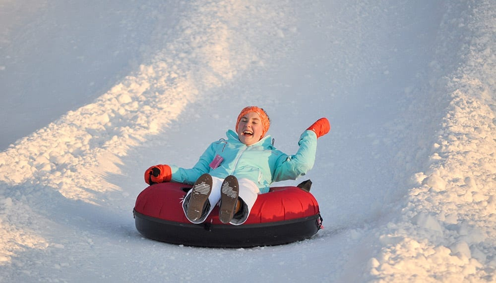 Snow Tubing - Fun for all ages!
