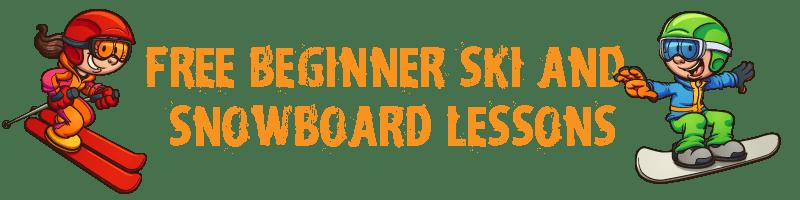 FREE Beginner Ski & Snowboard Lessons