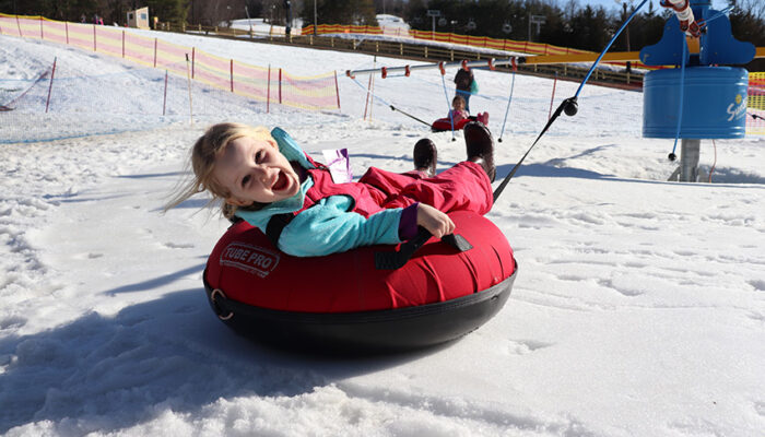 Tubing for kids